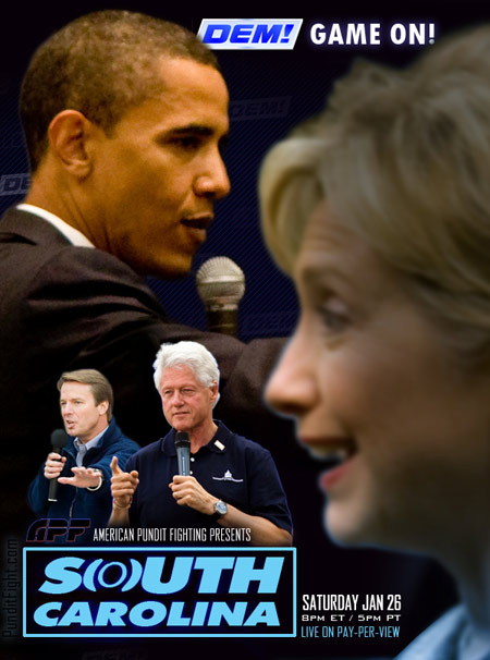 south carolina hillary bill clinton obama edwards democrats